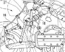 Nouveauté - Honda: une étonnante figure pour la proue d'une Goldwing