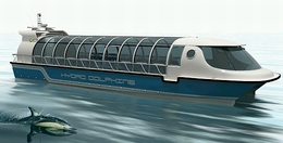 Un projet de bateau à l'hydrogène : l'Hydro Dolphin