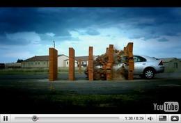 Réveil Auto - Crash test Top Gear : les étoiles sont remplacées par des murs de briques