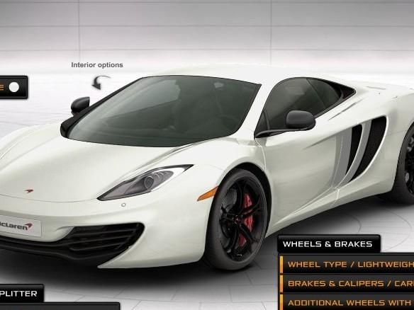 Configurez votre McLaren MP4-12C