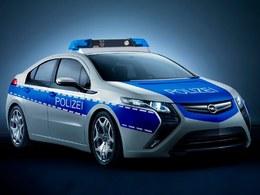Genève 2011 : Opel Ampera, pour la police des villes