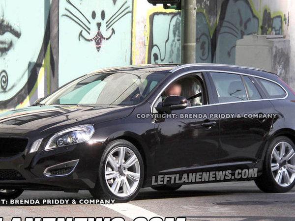 Spyshot : la Volvo V60 en clair
