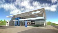 Mercedes ouvre un showroom dans... Second Life
