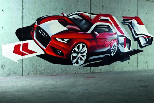 Future Audi A1 : le compte à rebours commence