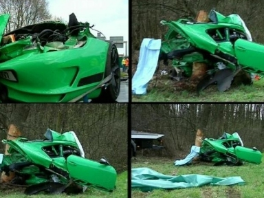 terrible crash d une porsche 911 gt3 rs en allemagne deux morts. Black Bedroom Furniture Sets. Home Design Ideas