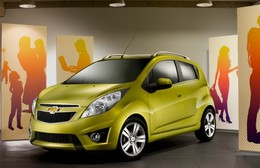 Salon de Francfort 2009 : la Chevrolet Spark
