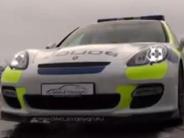 [Vidéo] Une Porsche Panamera Turbo boostée à 580 chevaux pour la police anglaise