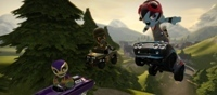 Super Mario Kart + Little Big Planet = ModNation Racers