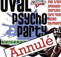 Oval Psycho Party 2015: la première édition annulée