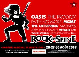 Festival Rock en Seine 2009 : privilégiez la mobilité durable !