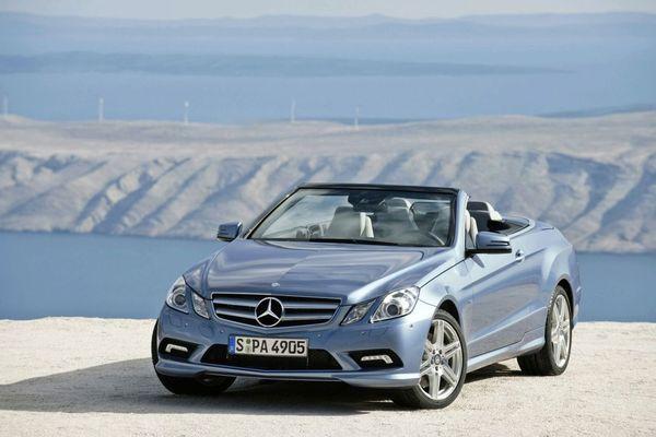 Nouvelle Mercedes Classe E Cabriolet : officielle