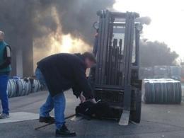 Sodimatex : les ouvriers menacent de faire exploser une citerne de gaz