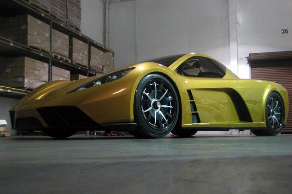 Salon de Dubaï : Kepler dévoile MOTION, supercar hybride