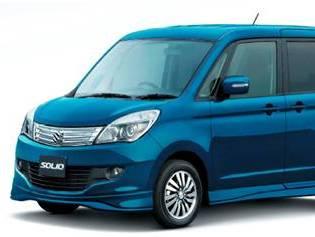 Un nouveau Suzuki Solio au Japon