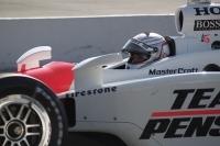 Romain Dumas a testé la Penske d'IRL