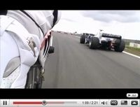 Vidéo du jour : Corser (SBK) et Heidfeld (F1) s'échange leurs jouets...