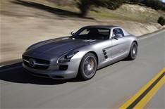 SLS AMG électrique : Mercedes débute les tests