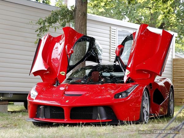 Photos du jour : Ferrari LaFerrari (Le Mans Classic)