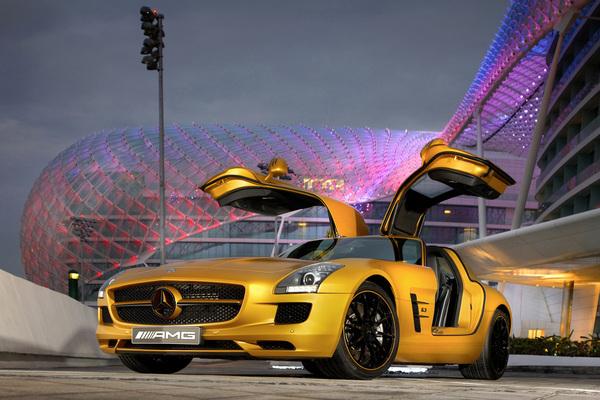 AMG Desert Gold, la SLS pour Dubaï