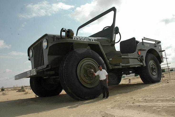 Insolite : Big Jeep ou la revanche de la Willys (face au ...