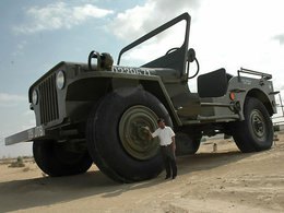 Insolite : Big Jeep ou la revanche de la Willys (face au Hummer)
