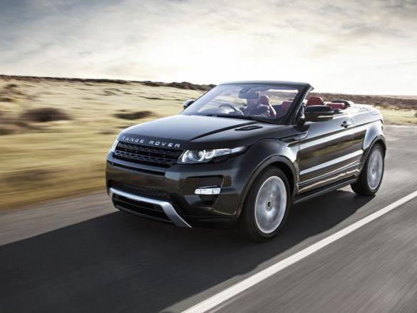 Range Rover Evoque Cabrio: le feu est au vert!