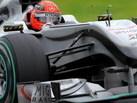 F1: Schumi commence à s'énerver... contre lui-même ?