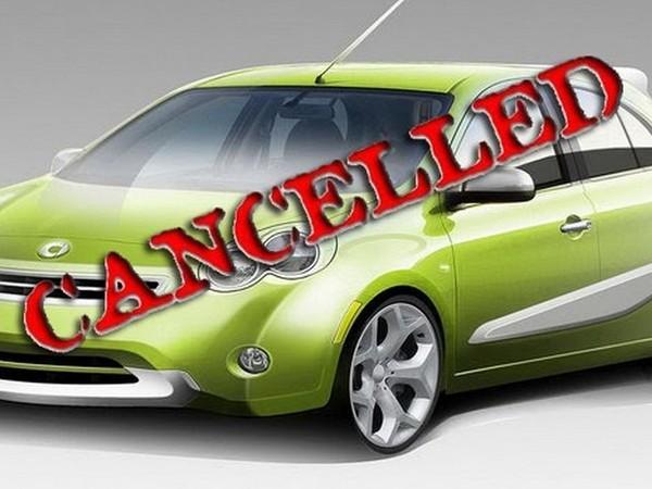 Smart américaine sur base de Nissan Micra : annulée