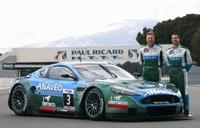 Une Aston DBR9 en GT FFSA!