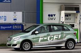 La Mercedes Classe B F-CELL à l'hydrogène produite d'ici fin 2009