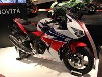 En direct du salon de Milan 2013 : Honda CBR 300 R
