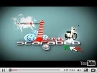 Vidéo Scooter : Gamme Aprilia Scaradéo 2009, film promotionnel