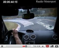 Réveil Auto - La Ford Focus RS Raeder Motorsport monte sur le Ring