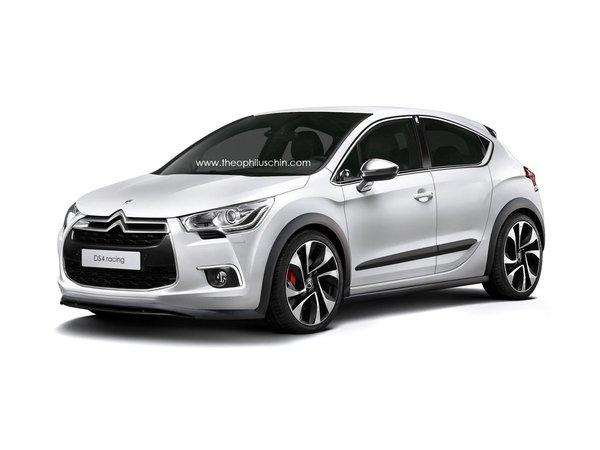 Une Citroën DS4 Racing, ça vous tente ?
