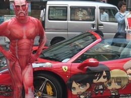 Insolite: la Ferrari 458 Italia Spider inspire aussi les animes