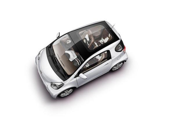 Salon de Francfort 2009 : deux études de style sur la Toyota iQ