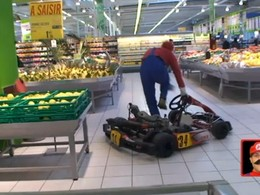 [Vidéo] Rémi Gaillard de retour en kart