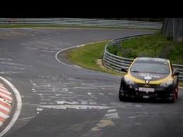 Mégane RS500 Dijon Auto Racing, la vidéo complète au Nürburgring