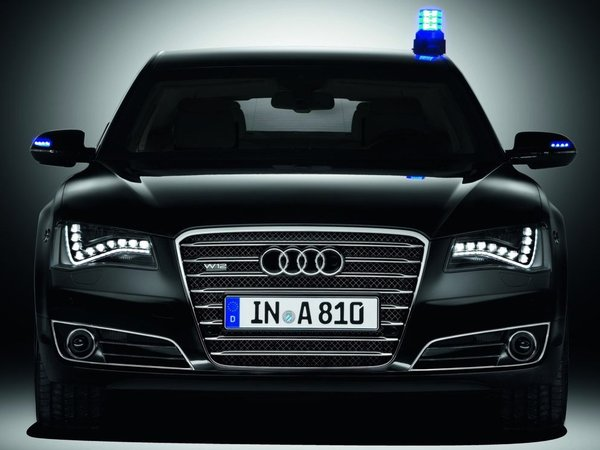 Audi A8L W12 Security : contre les balles