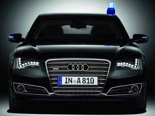 Audi A8L W12 Security : contre les balles