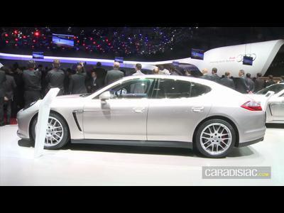 Geneve 2012 : La Porsche Panamera GTS en vidéo