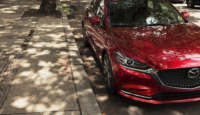 La Mazda 6 restylée au salon de Los Angeles