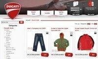 Ducati Store : nouveau site en ligne.