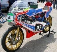 Série A: les machines de grand prix de 50 à 350cc jusqu'à 1985.