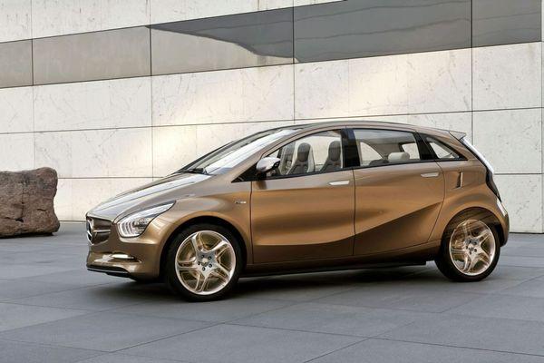 Salon de Francfort 2009 : le Concept Mercedes-Benz BlueZERO E-CELL PLUS