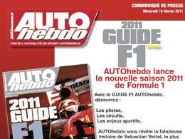 Auto Hebdo Spécial Guide F1 en kiosque