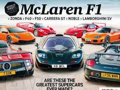 McLaren F1 Group Test : EVO fait très fort