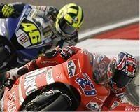 Moto GP: Rossi postule pour Ducati