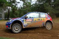 La Ford Fiesta Super 2000 en action