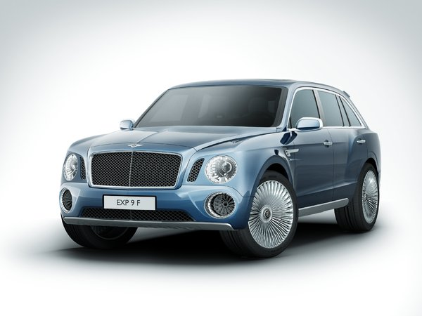 Bentley EXP 9 F: un design déjà remis en cause...